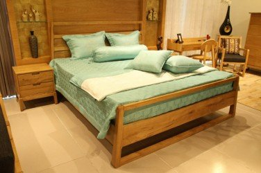 Giường ngủ gỗ sồi GIUONGS0004