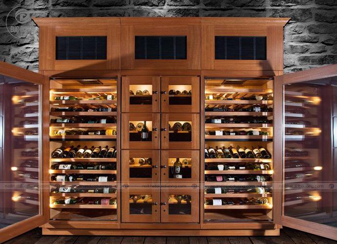 Mẫu tủ rượu đẹp phong cách hiệu đại