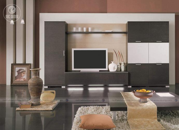 Những mẫu tủ tivi đẹp phong cách giản đơn