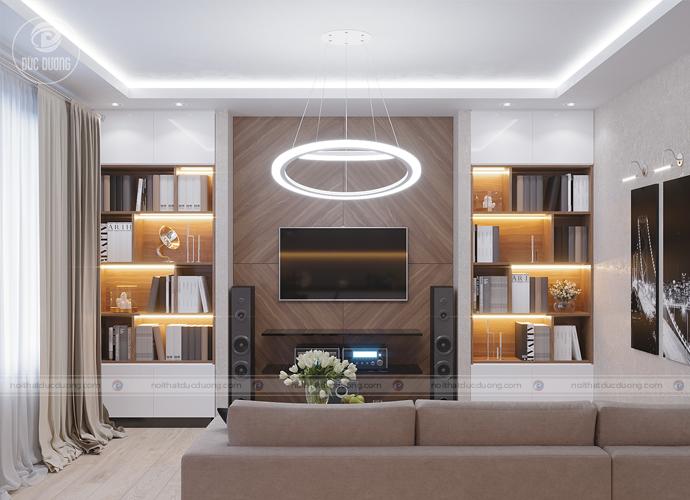 Mẫu kệ tivi đẹp thiết kế tối ưu lấy ánh sáng tự nhiên