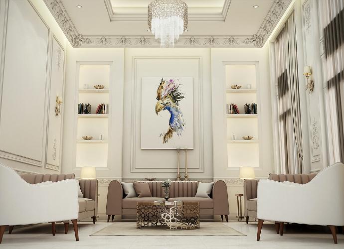 Cảm giác êm ái thư giãn với những bộ sofa được thiết kế sang trọng, đẳng cấp.