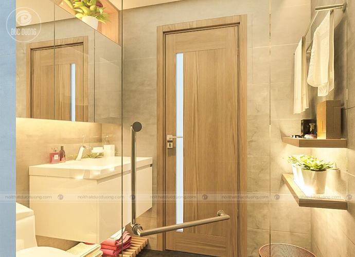 Hình 11: cửa gỗ laminate bất chấp sự tác động độ ẩm