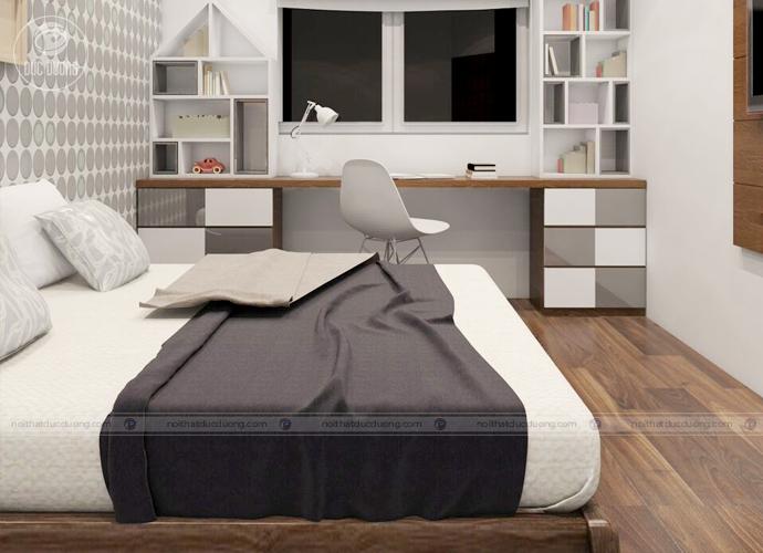 Nội thất phòng ngủ do KTS Đức Dương thiết kế