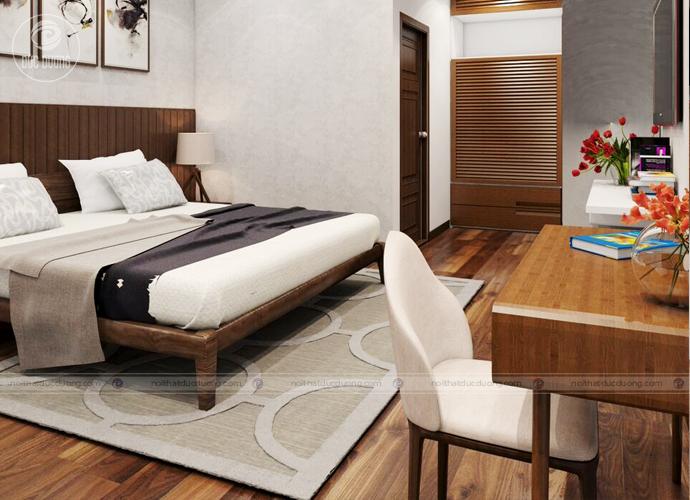 Hình ảnh 9: Tổng thể phòng ngủ của bố mẹ.