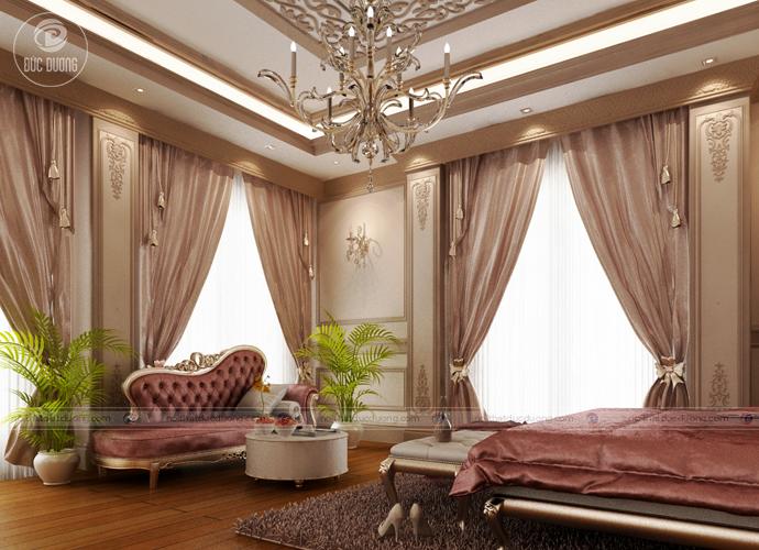 Hình 9: Thiết kế nội thất theo phong cách cổ điển.