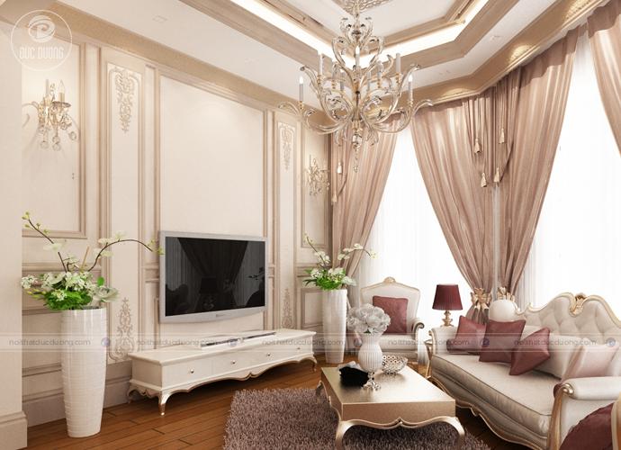Hình 11: Nội thất phòng ngủ theo phong cách cổ điển.