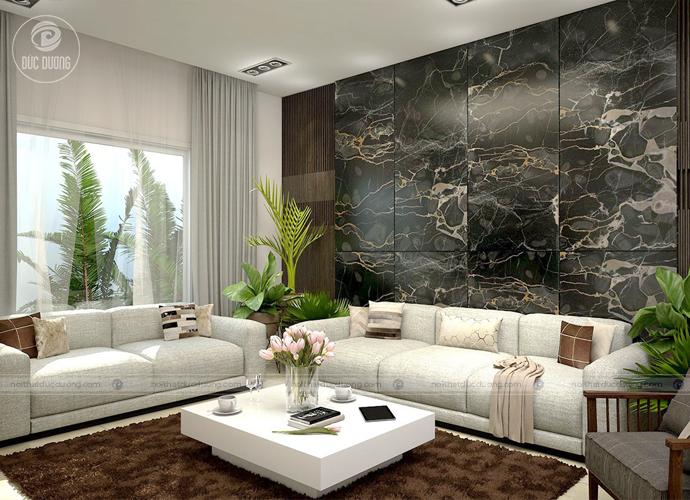 Màu sắc được kết hợp ăn ý với nhau tạo nên phong cách riêng biệt cho căn phòng.