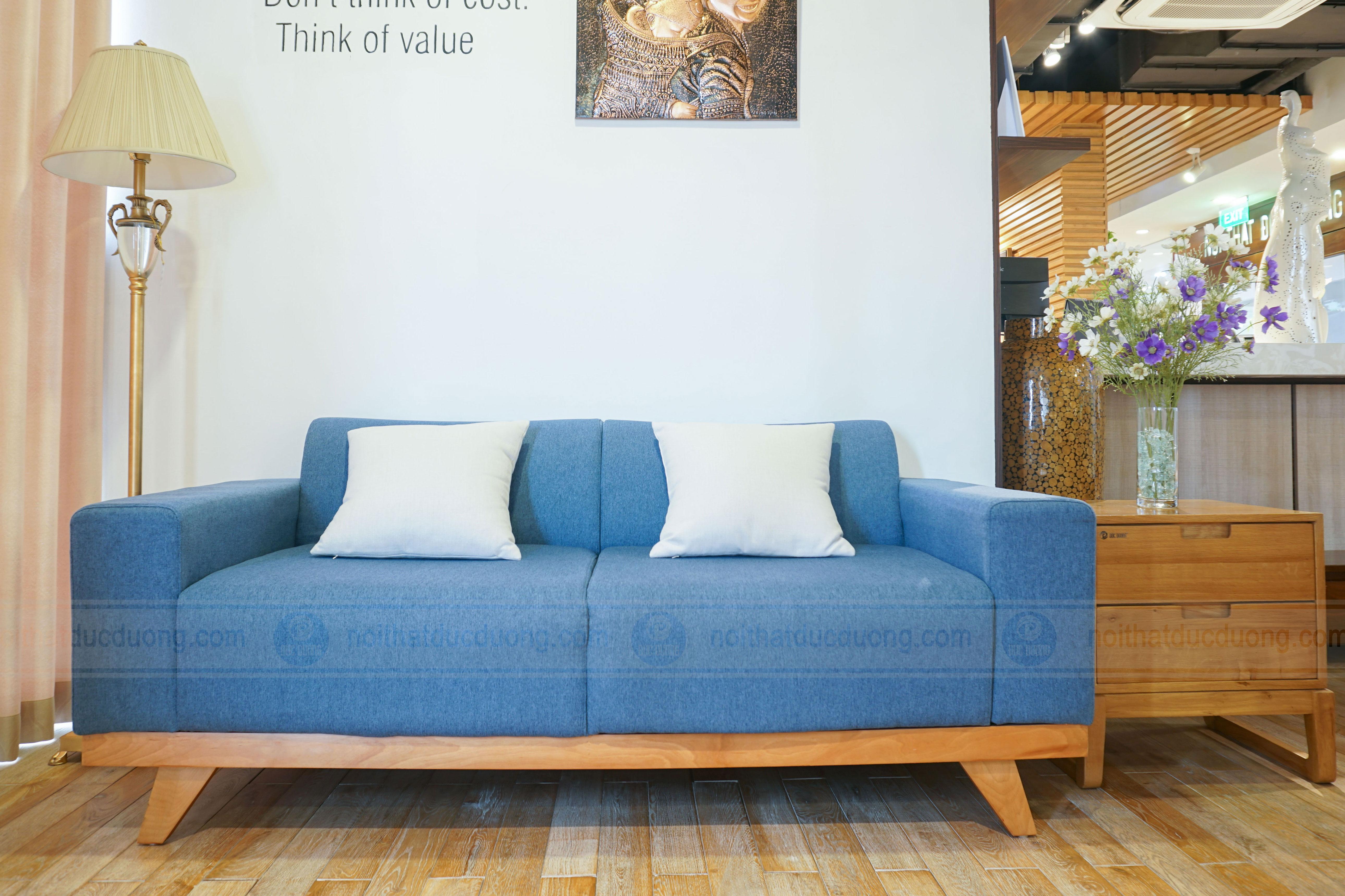 Sofa văng gỗ sồi
