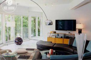 Thiết Kế Phòng Khách Hiện Đại Với Sự Phá Cách của Chiếc Ghế Sofa