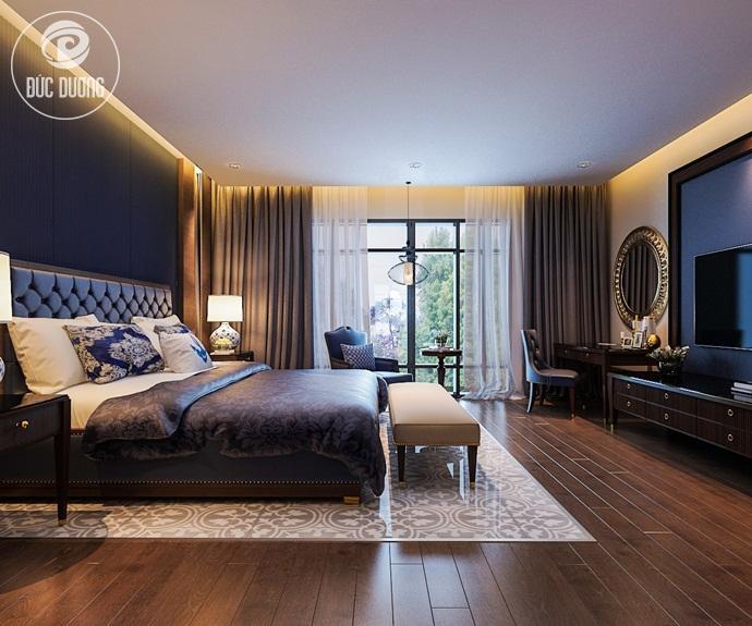 Cách bố trí phòng trong thiết kế nội thất khách sạn thu hút du khách