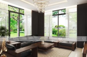 Thiết kế thi công nội thất biệt thự Ecopark nhà chị Lương với chi phí 600 triệu đồng.