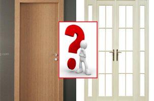 Thiết kế thi công nội thất gia đình: Nên chọn cửa gỗ hay cửa sắt?