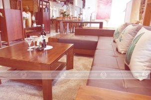 Nên chọn sofa gỗ óc chó hay sofa gỗ cẩm lai?