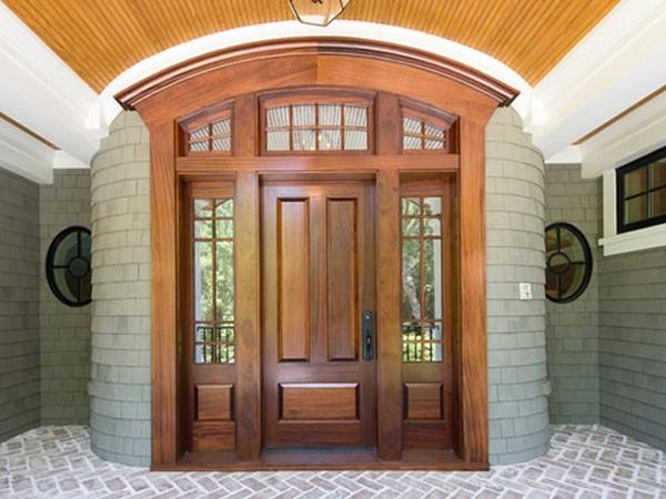 Các mẫu cửa gỗ tự nhiên đẹp nhất