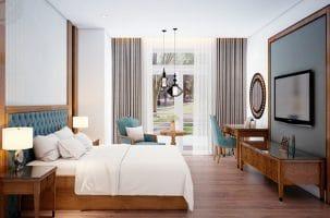 Điểm danh những mẫu thiết kế thi công nội thất khách sạn đẳng cấp của Nội thất Đức Dương