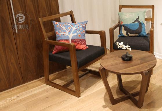 Sofa Gỗ – Xu Hướng Thiết Kế Nội Thất Phòng Khách Sang Trọng