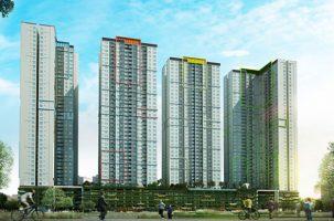 Thiết kế thi công nội thất phòng khách chung cư cao cấp Seasons Avenue