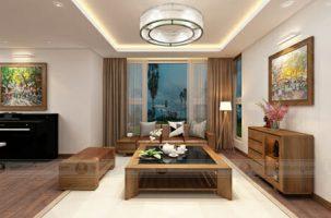 Thiết kế thi công nội thất biệt thự anh Tú – Sunny Garden City