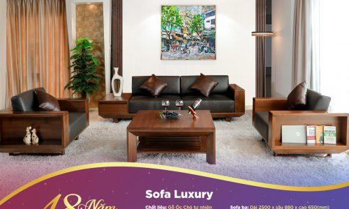 Bộ sofa Luxury