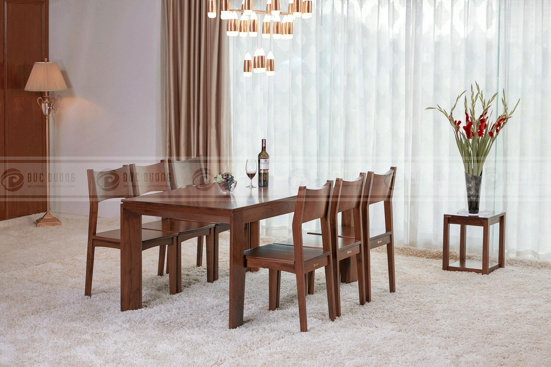 Bộ bàn ghế ăn Gill