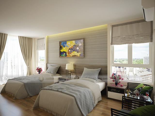 Thiết kế thi công nội thất khách sạn Hàn Việt – Bắc Giang