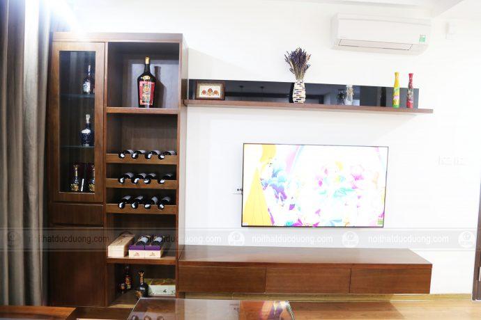 Thi công nội thất sang trọng nhà anh Hải – Chung cư Anland Complex