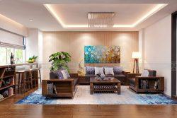 Nội thất hoàn hảo cho căn biệt thự 200m2 tại Khu biệt thự An Phú Shop Villa