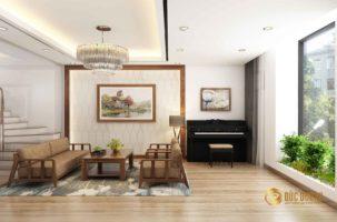 Thiết kế và thi công nội thất nhà phố 5 tầng gia đình anh Hà – Vạn Phúc