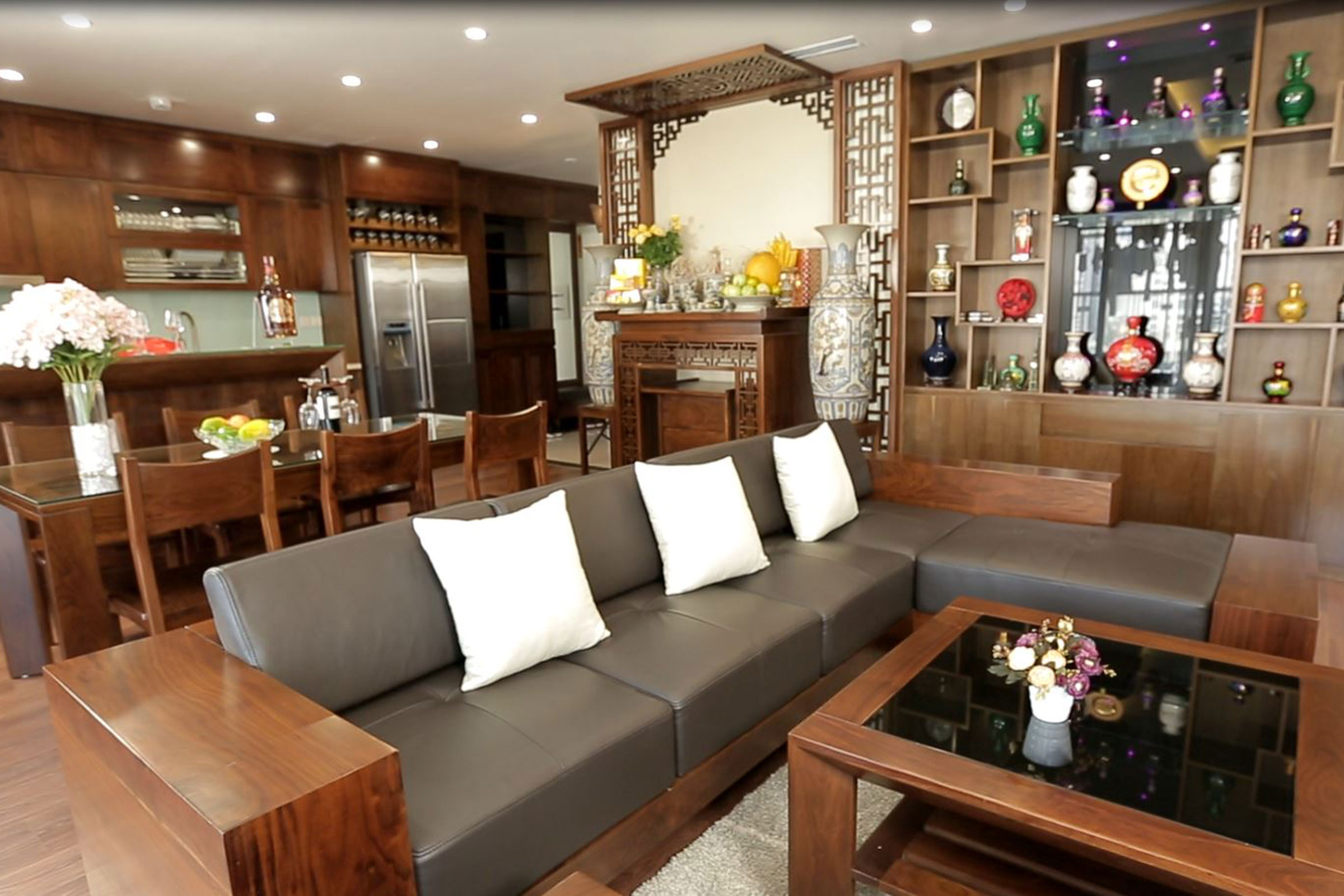 Thiết kế thi công nội thất căn hộ anh Lộc – chung cư Imperia Garden