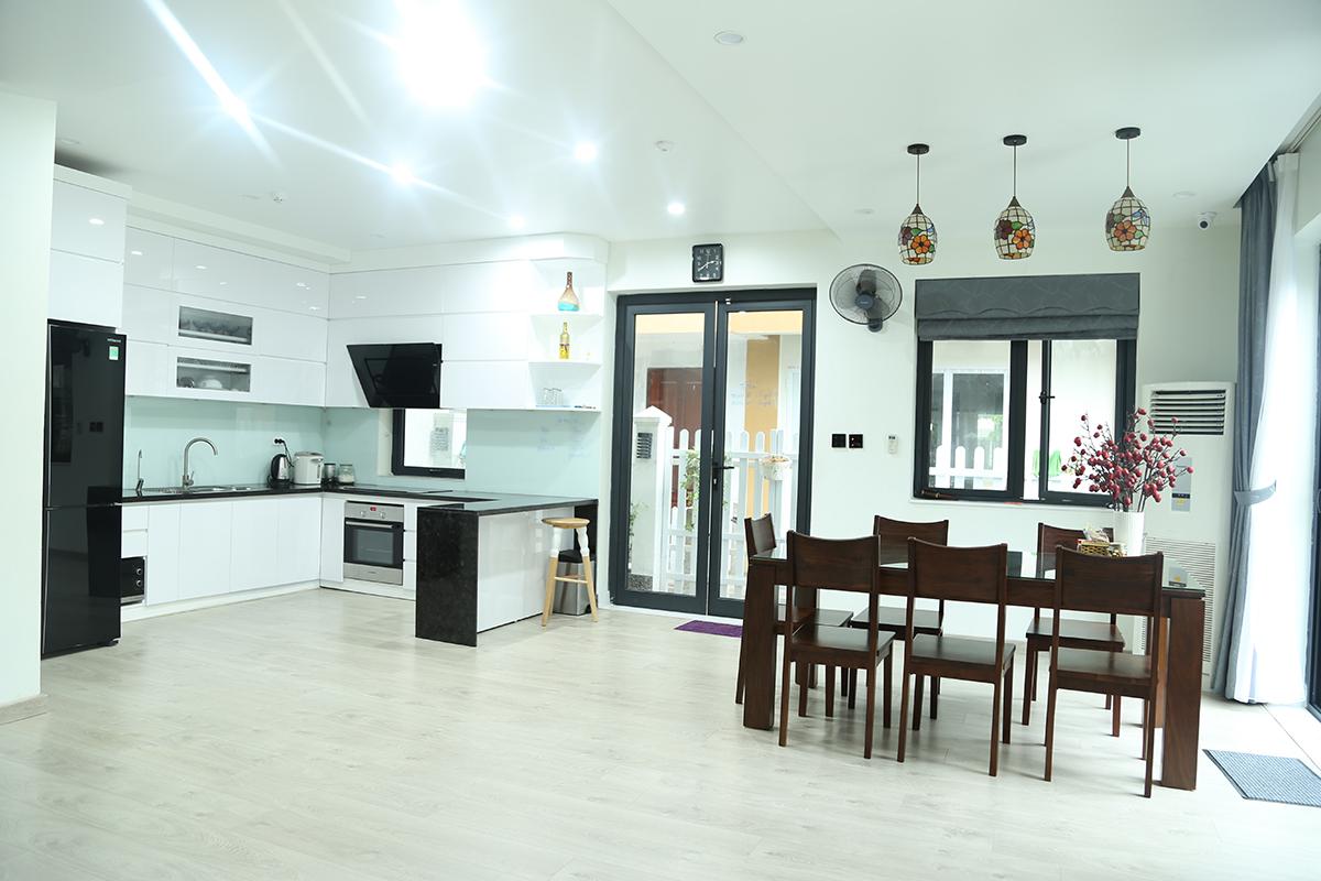Thiết kế và thi công nội thất biệt thự anh Hưng – Khu đô thị Ecopark