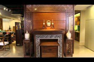 Bộ bàn thờ và tam bảo gỗ tự nhiên