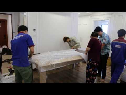 Bàn giao nội thất cho căn hộ chị Nhung – chung cư GoldMark