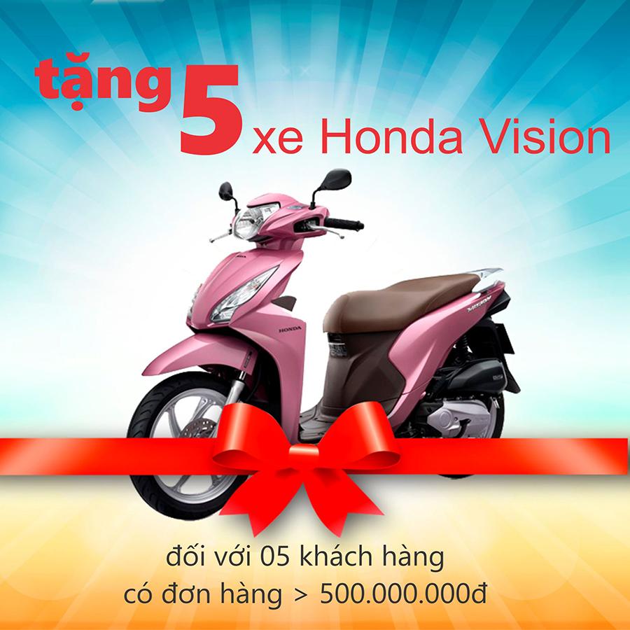 MỪNG KHAI TRƯƠNG SHOWROOM NỘI THẤT THỨ 2 – TẶNG NGAY XE HONDA VISION