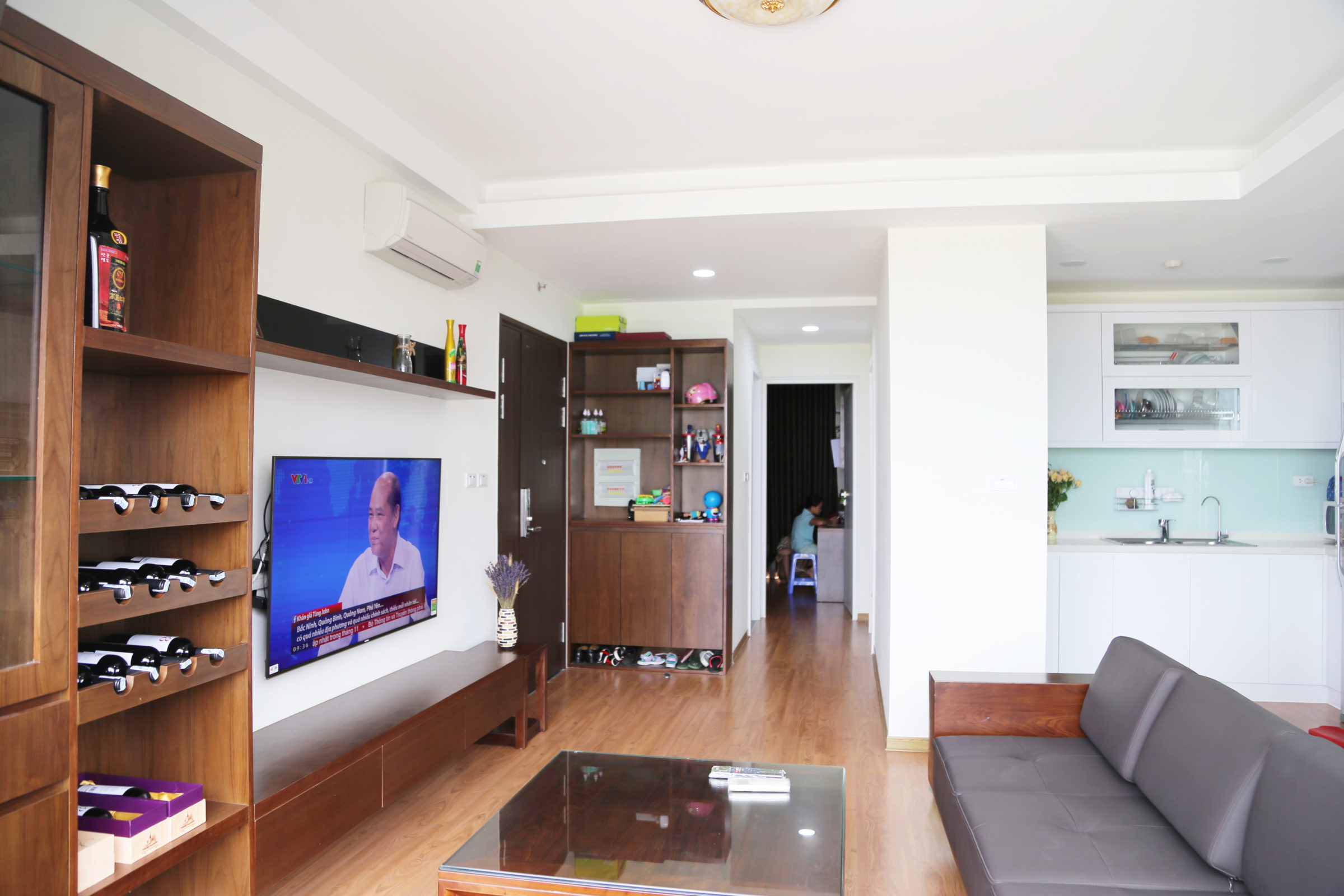 Thiết kế và thi công nội thất căn hộ anh Hải – chung cư Anland Dương Nội