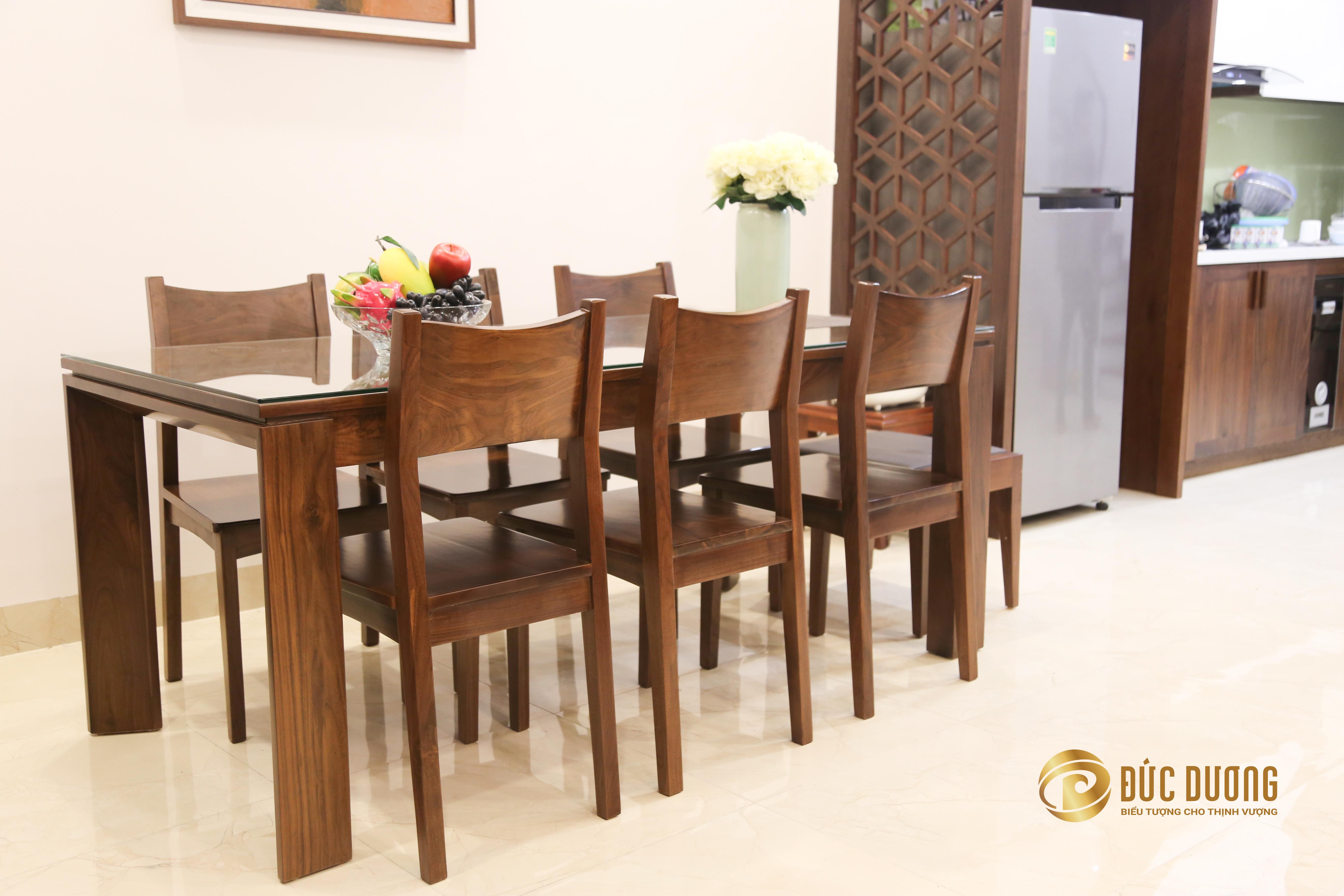 Bàn ghế nội thất gia đình phòng ăn