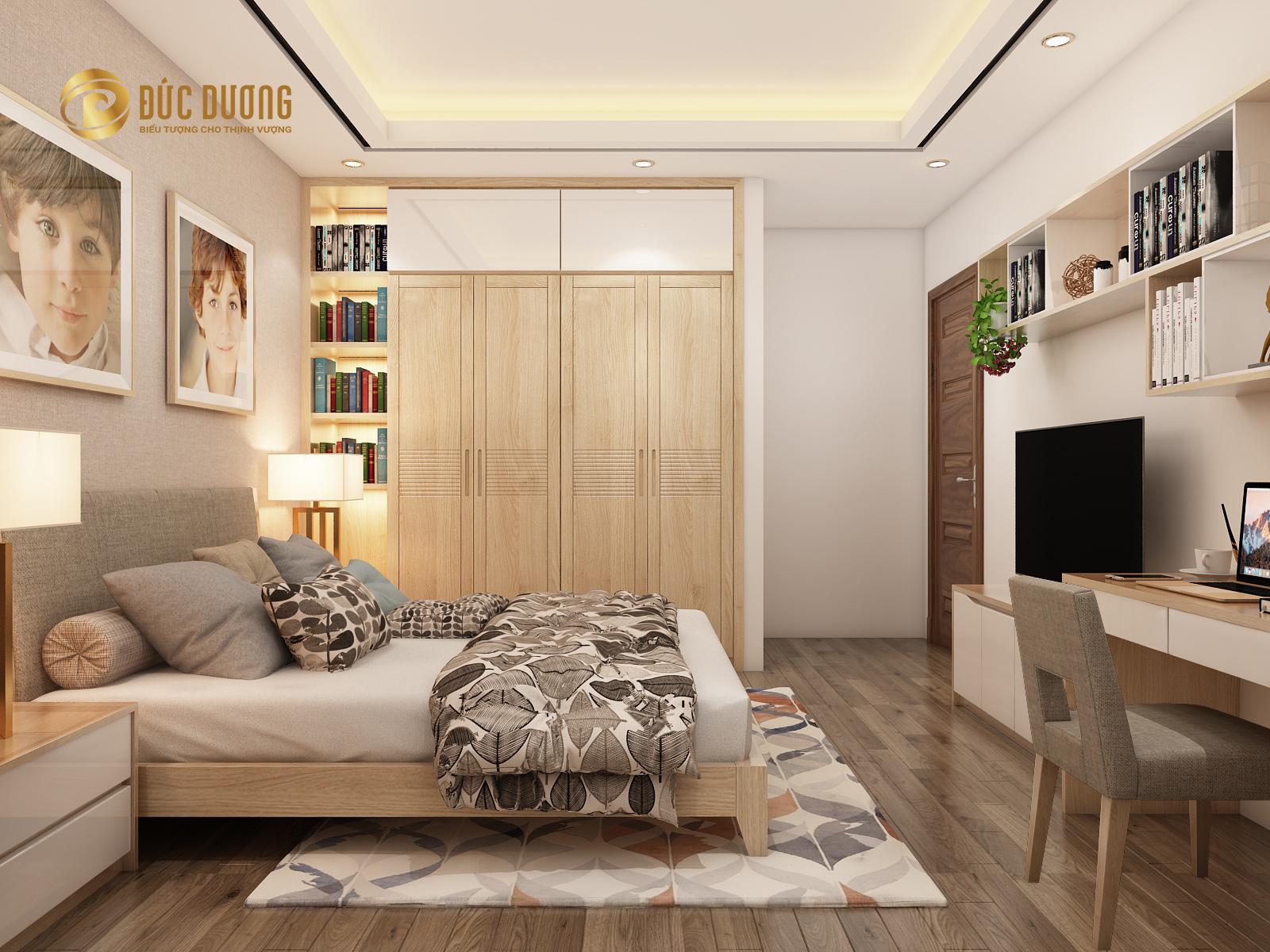 Thiết kế và thi công nội thất biệt thự anh Kiên – Khu đô thị Văn Quán