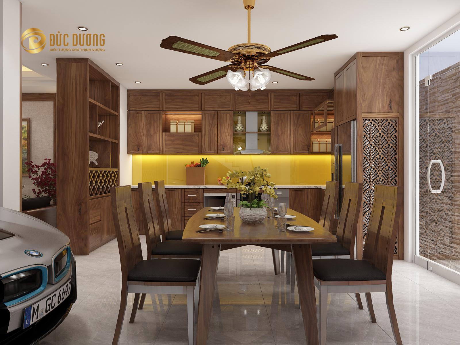 Thiết kế và thi công nội thất biệt thự anh Kiên