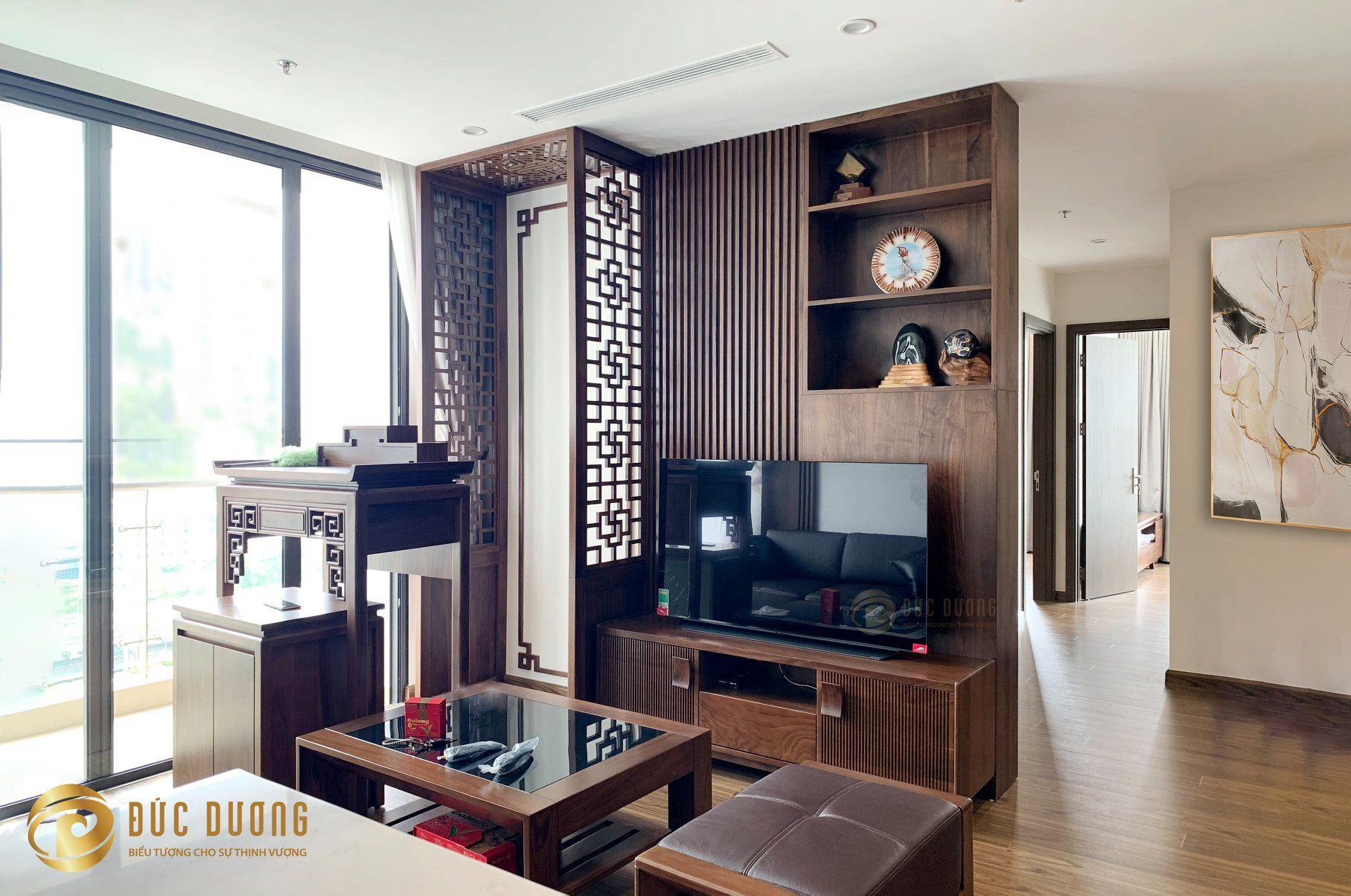 thi công nội thất căn hộ chị Linh, Vinhomes West Point️
