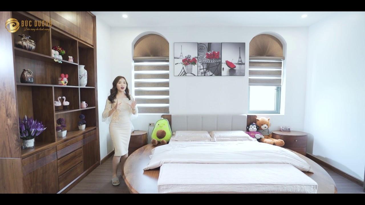 Thiết kế và thi công nội thất biệt thự Vinhomes tại Thanh Hóa – Gỗ óc chó cao cấp