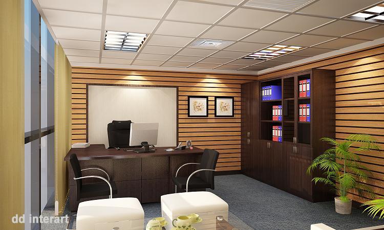 Mẫu thiết kế văn phòng đẹp – Thi công nội thất văn phòng Hà Nội